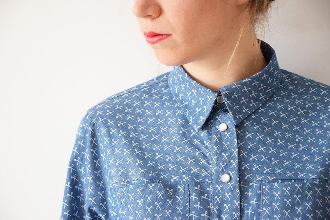 Apprendre coudre une chemise avec carmen artesane for Apprendre a couture gratuit
